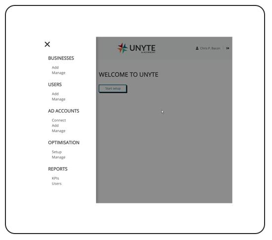 Unyte functionality & reporting